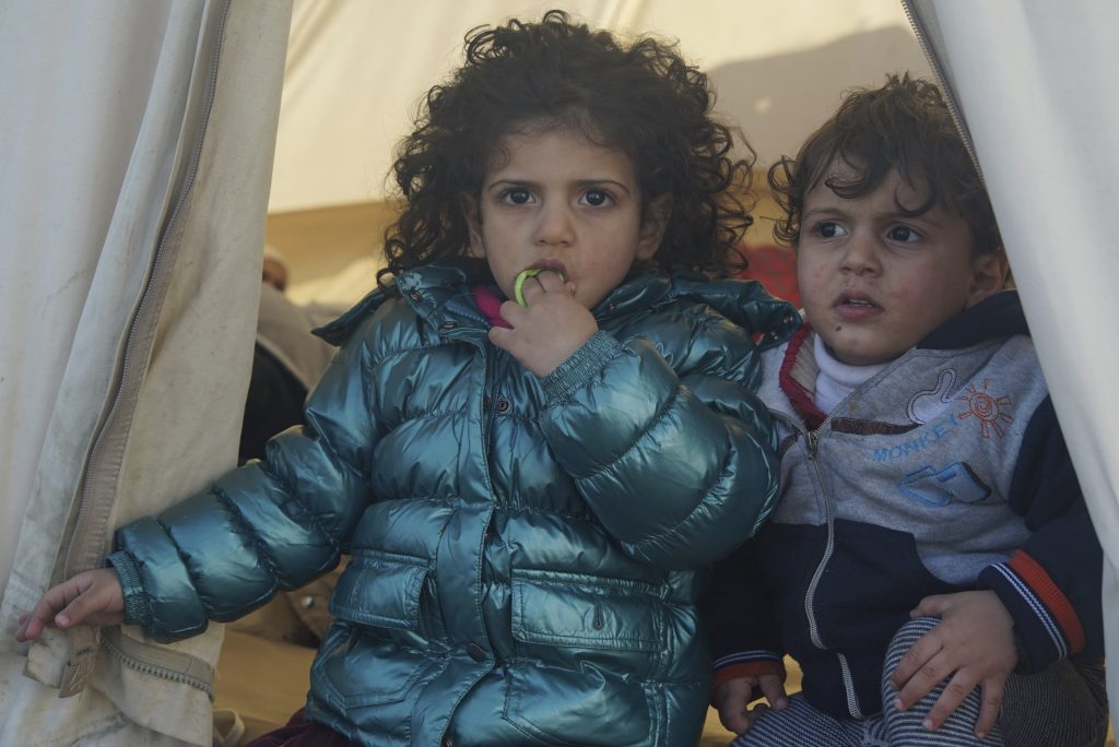 Underaged_refugees_in_a_camp_located_at_