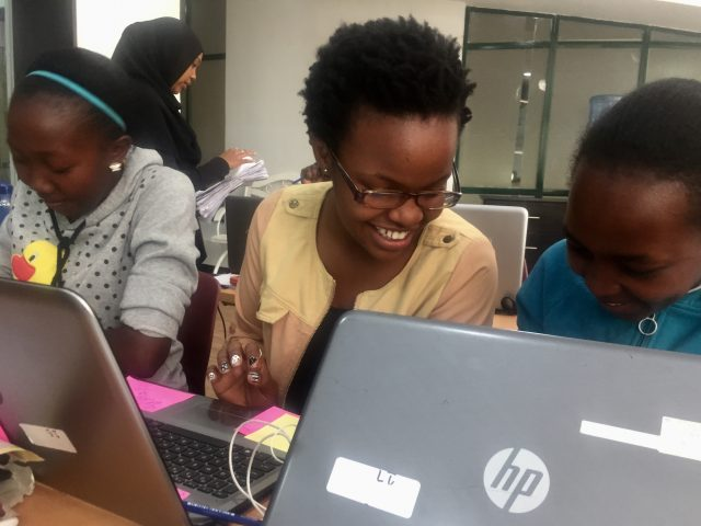 A tech training program is giving Abby and other girls the tools to succeed