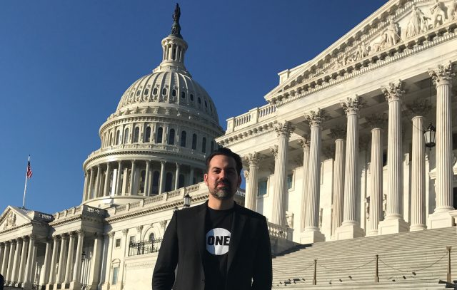 """Finding our voices:"" An Oklahoma pastor on why he joined ONE and lobbied on Capitol Hill"