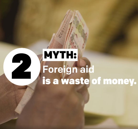 VIDEO: 4 myths about foreign aid