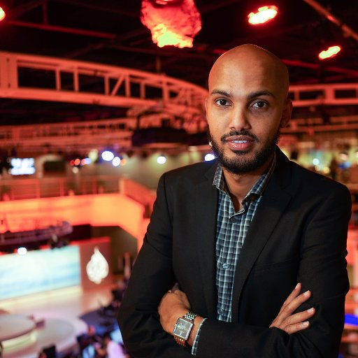 Journalist Hamza Mohamed