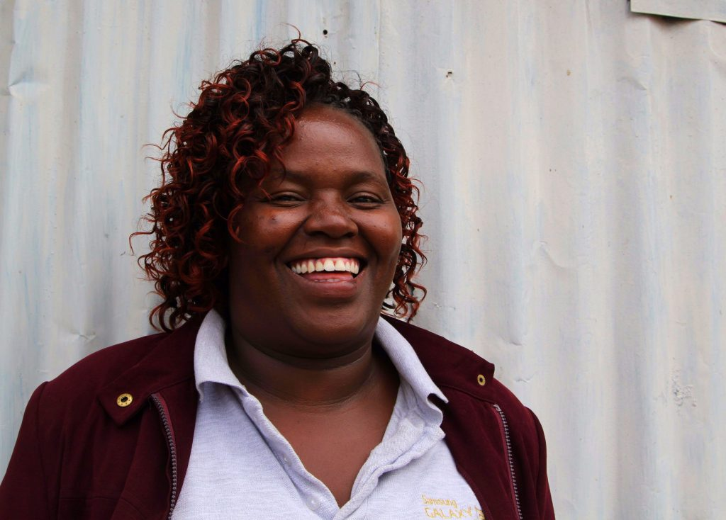 Jennifer, the Swahili and history teacher at City Shine Secondary School in Kayole, Nairobi.