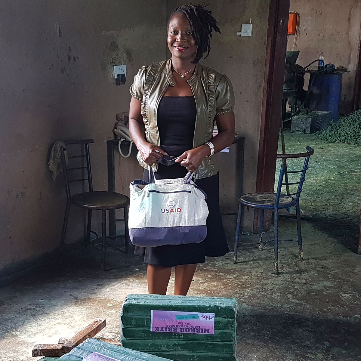 The amazing reason why a Zimbabwe soap business is cleaning up