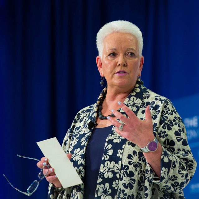 ONE Campaign CEO Gayle Smith has something to ask you