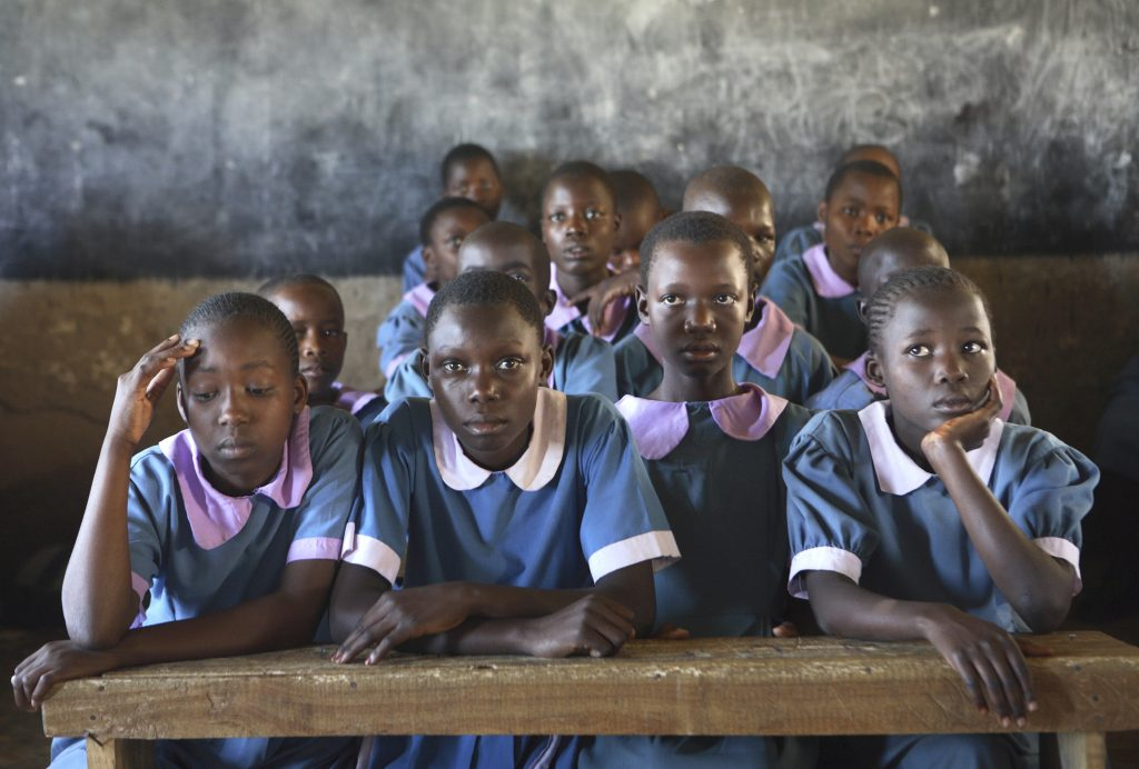 Girls at a school in Kenya. (Photo: Alissa Fishbane | J-PAL/IPA)
