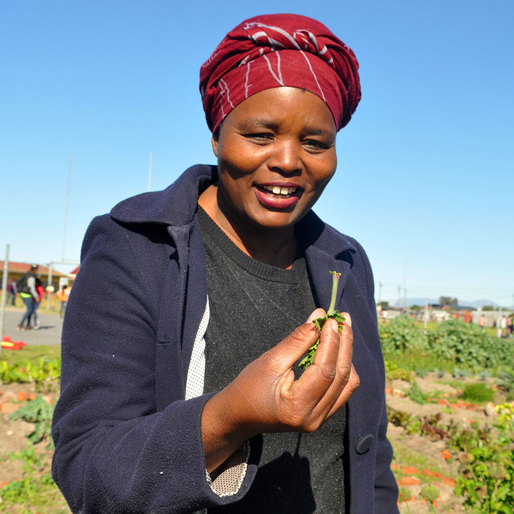 Why this super woman grows super foods for her community