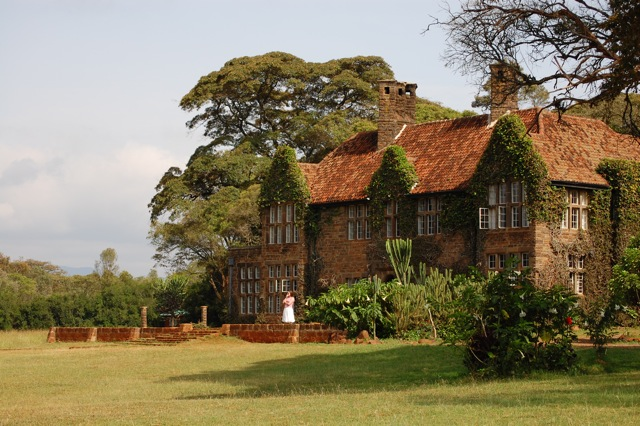 Giraffe Manor in Nairobi, Kenya. (Photo credit: Push the button/Wikimedia Commons)