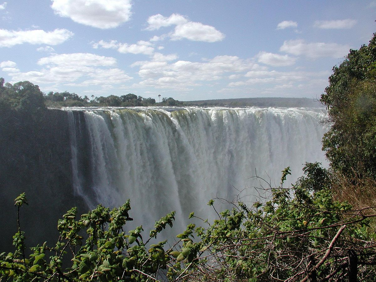 Victoria Falls. (Photo credit: John Walker/Wikimedia Commons)