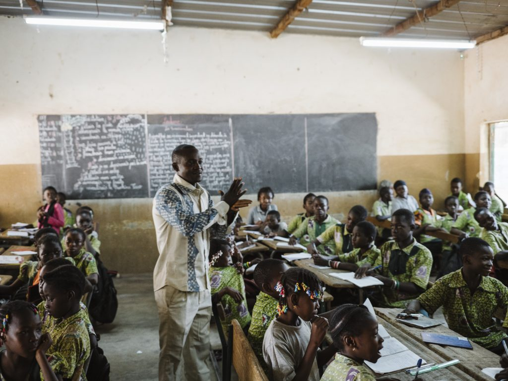 A classroom at CEFISE. (Photo credit: CEFISE)