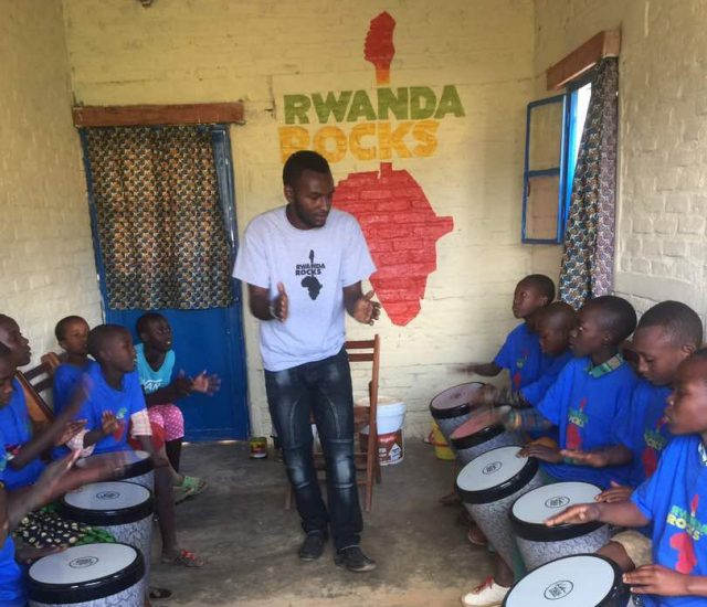 From dream to reality: Starting a music school in a Rwandan refugee camp