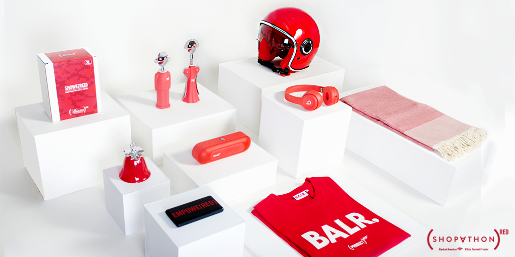(RED) products available this year.