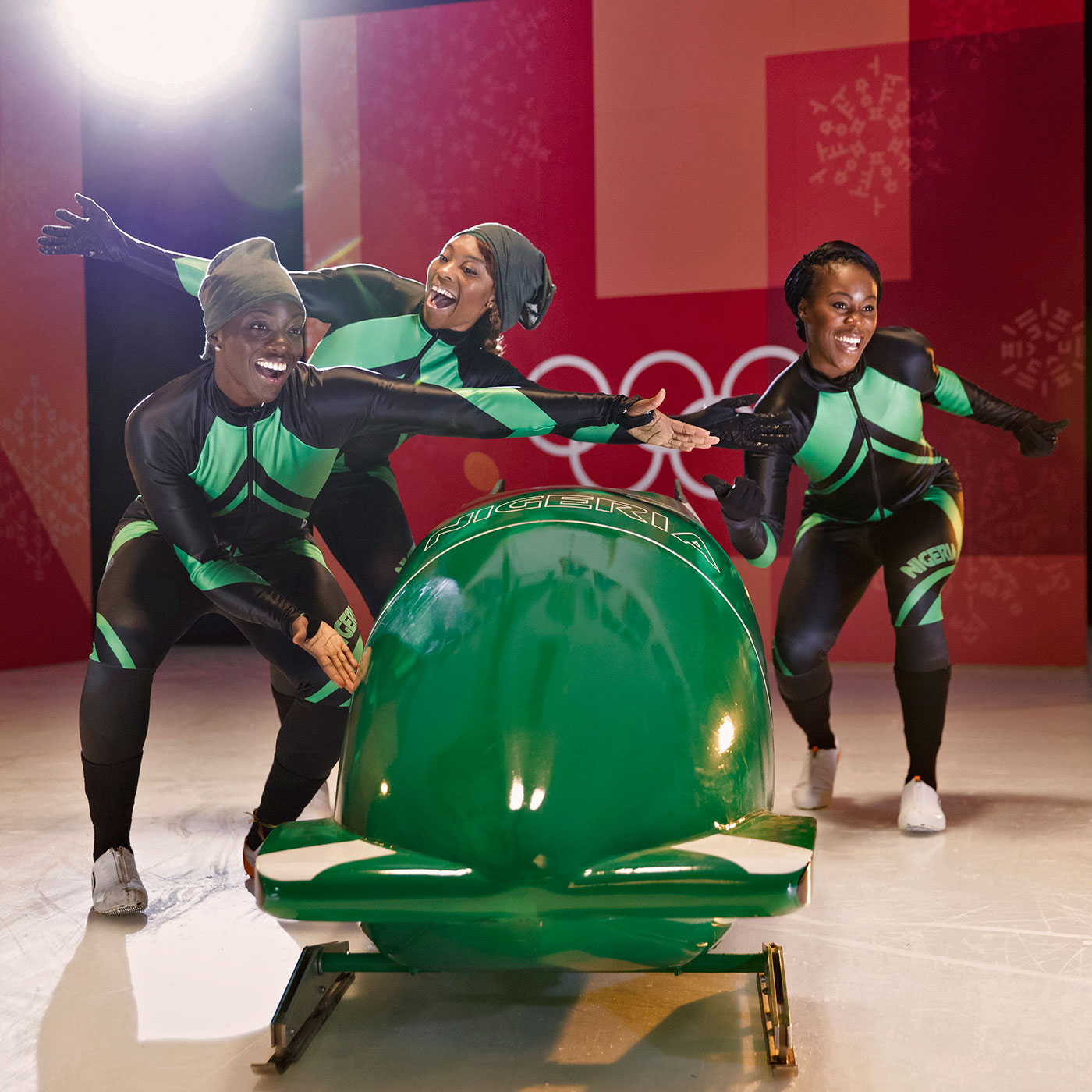 These women will bobsled for Nigeria in the 2018 Winter Olympics