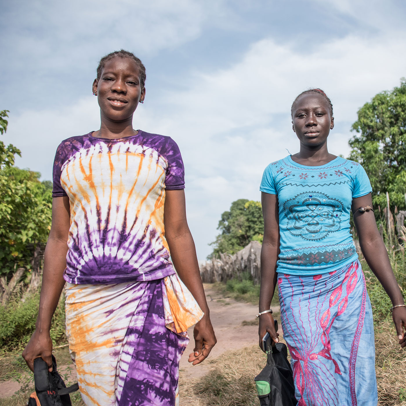 Support these two teens who fight for girls' education