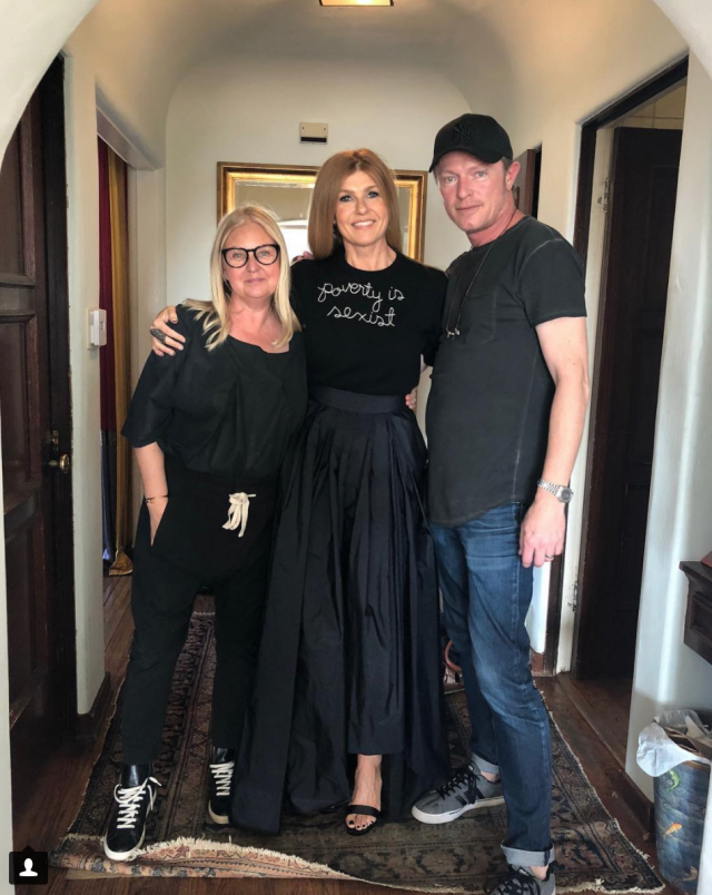 Why Connie Britton wore THIS sweater at the Golden Globes