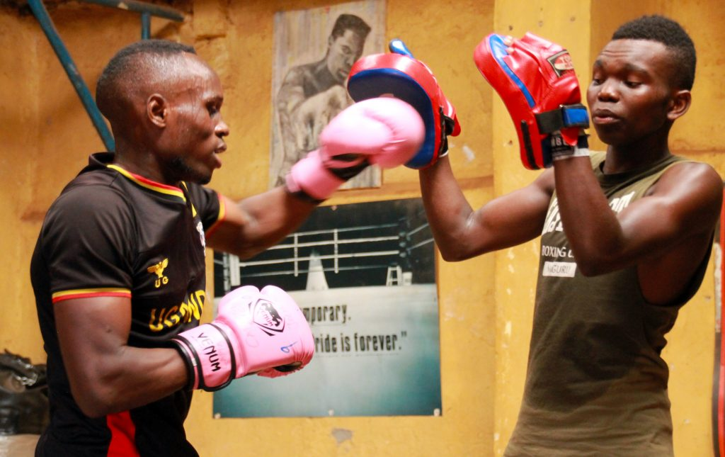 Shaki's boxing gym is making a big difference in Kampala - ONE