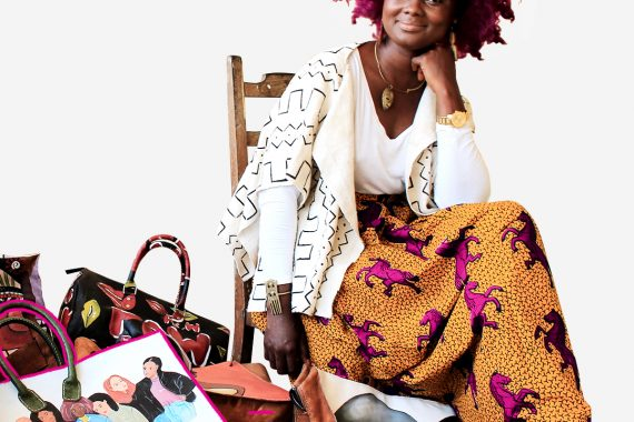 This Liberian entrepreneur started her own pop-up shop