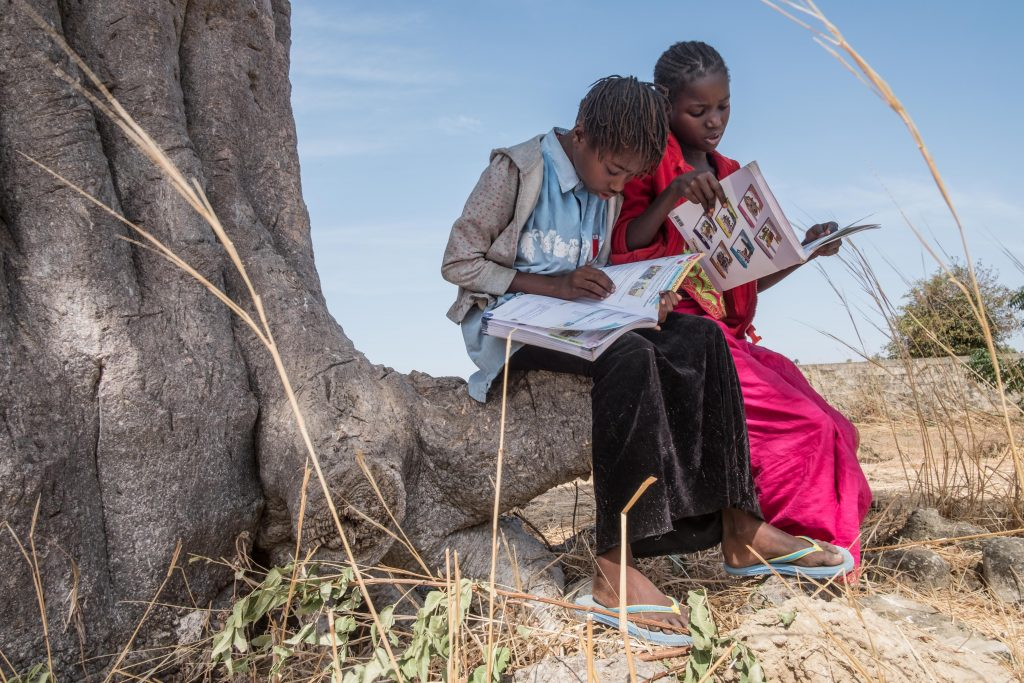 Girls in Soudiane, Senegal.(Photo credit: Ricci Shryock/ONE)