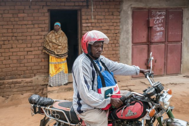 How a man on a motorcycle is finding missing TB cases in Tanzania