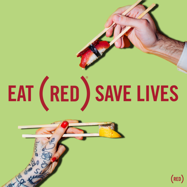 Have your cake and save lives, too, with EAT (RED) SAVE LIVES