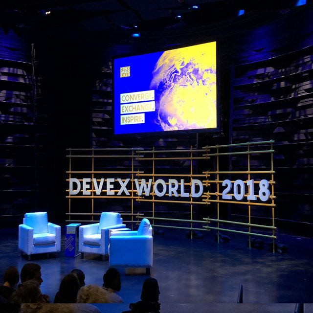 Important lessons on development from Devex World