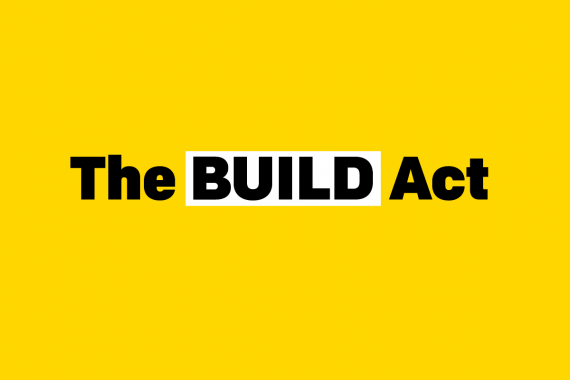 YES! Thanks to you, the BUILD Act is now law