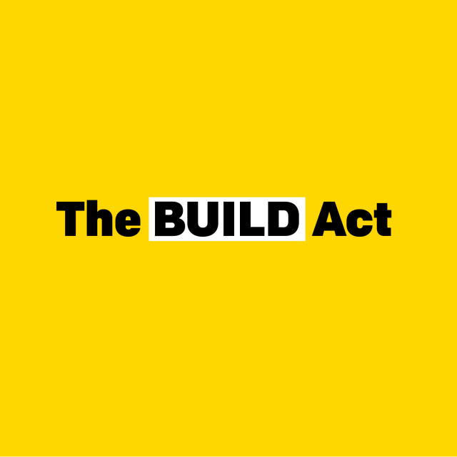 Last chance: Tell Congress to support the BUILD Act