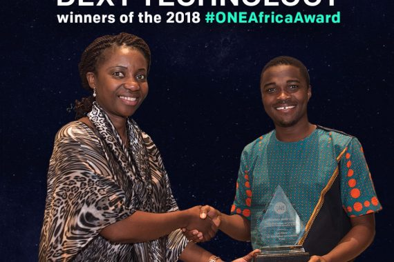 ONE Africa Award 2018 – Dext Technology wins!
