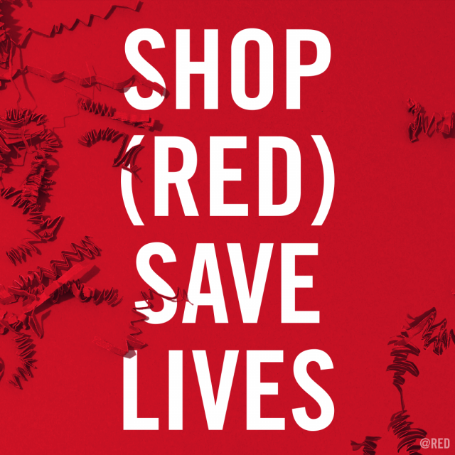Why you should shop (RED) this holiday season