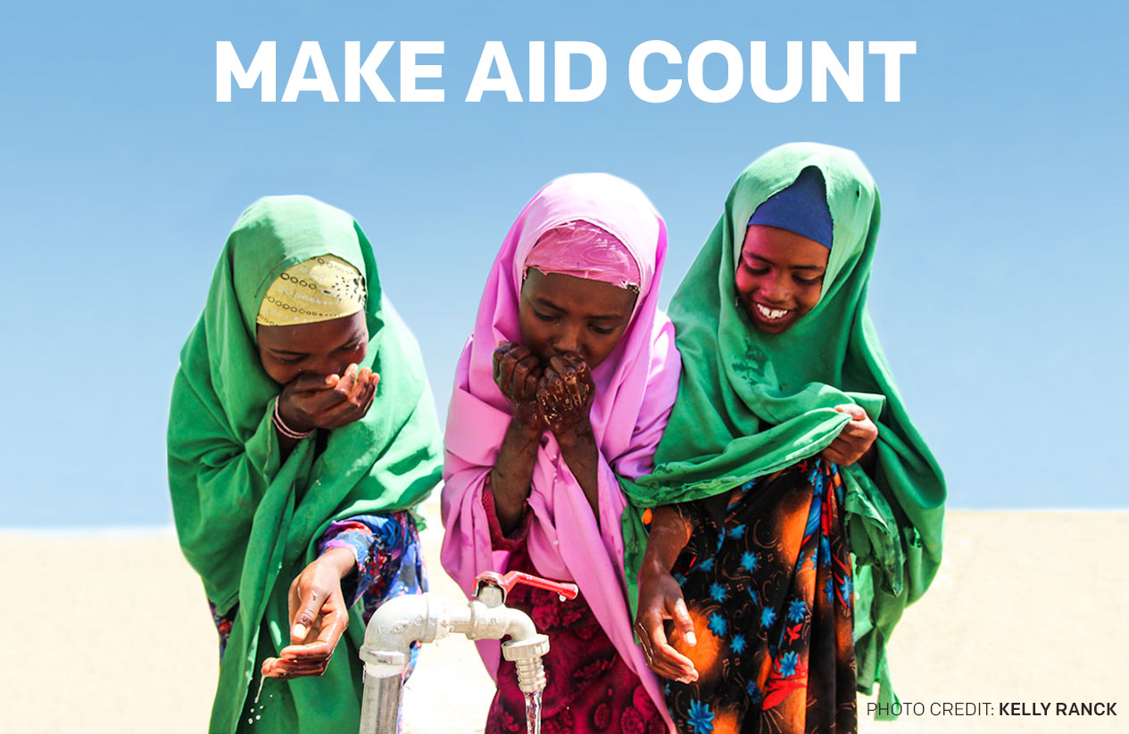 Target 50% of Canadian aid to those who need it the most