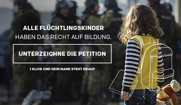 jetzt die Petition unterzeichnen