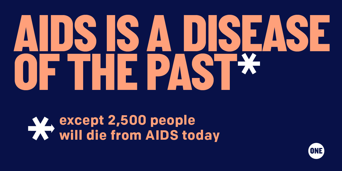 TAKE ACTION: We demand more action in the fight against AIDS.