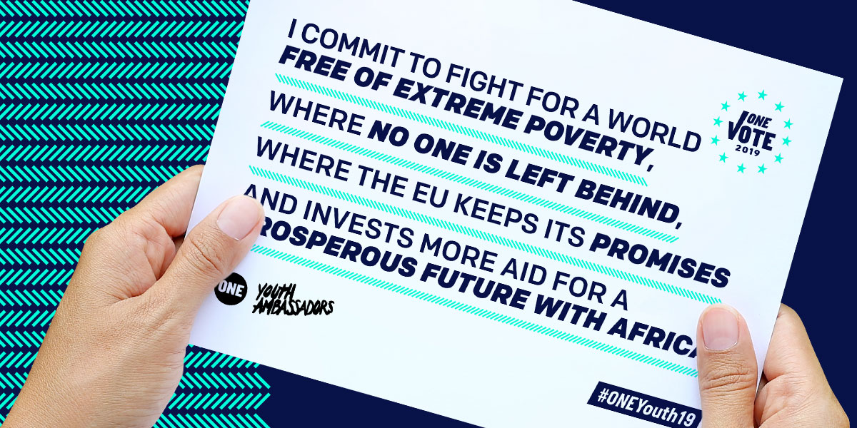 Ask our EU leaders to fight extreme poverty.