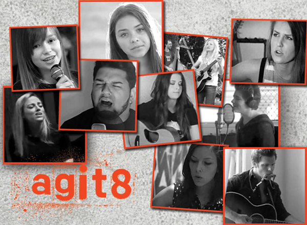 YouTube stars come together with protest songs for agit8 - ONE