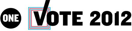 ONE Vote 2012 logo