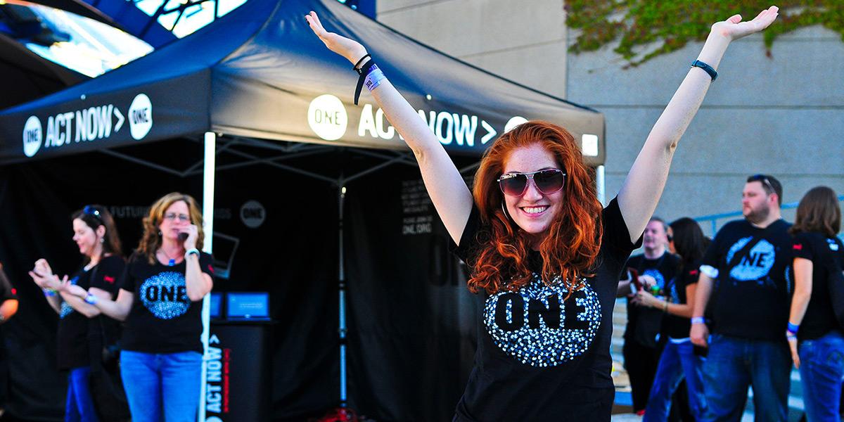 Volunteer with ONE & U2!
