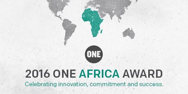 2016 ONE Africa Award