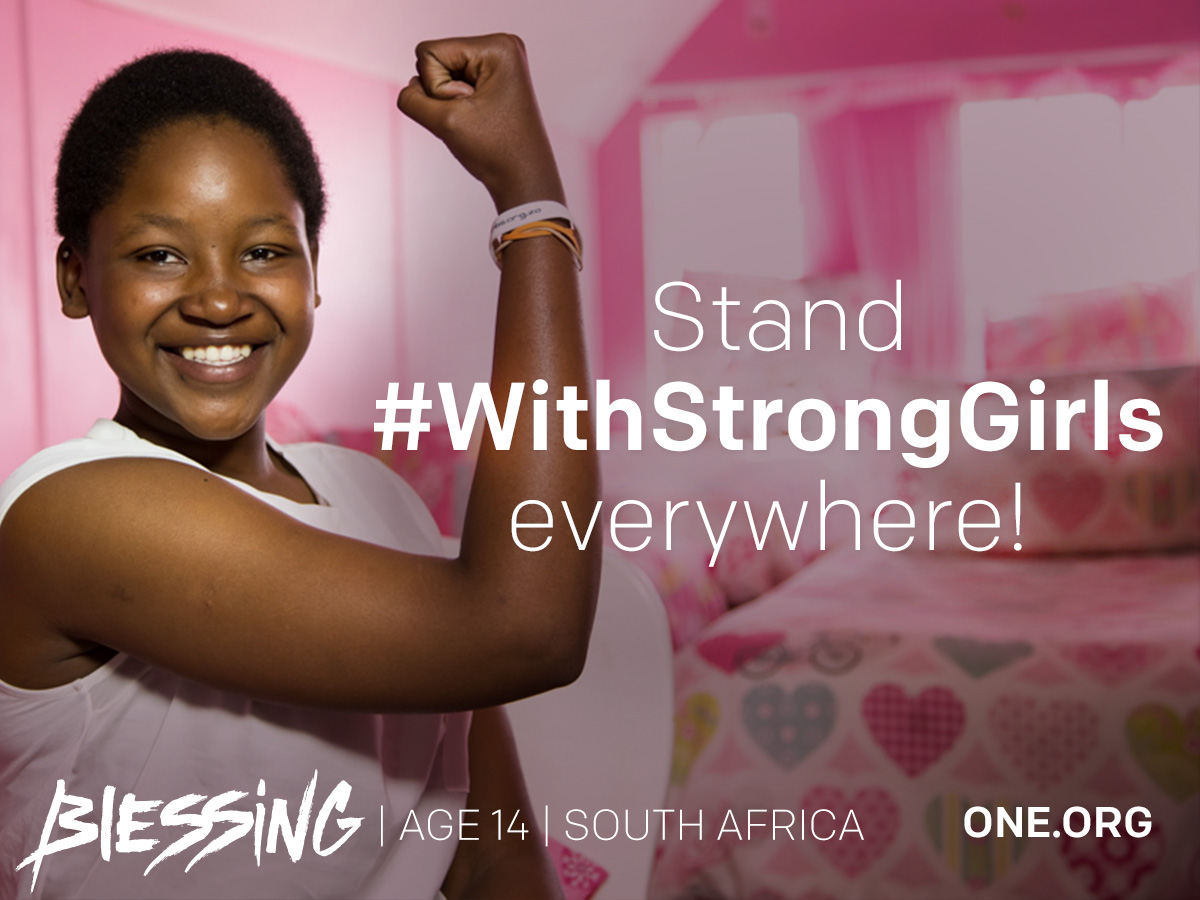 Will you stand #WithStrongGirls everywhere?
