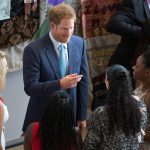 Prince Harry chats with young delegates at the International Aids Conference (IAC) in Durban, South Africa. Picture: JAMES OATWAY/ONE