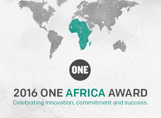 Seeking the best and greatest –  The ONE Africa Award is back!