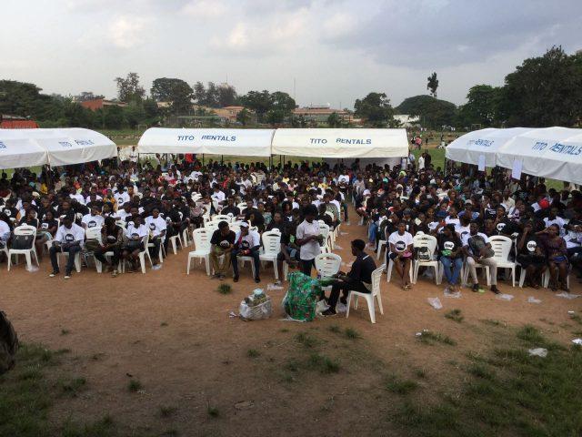 How ONE Ambassadors Waje and Falz brought #MakeNaijaStronger to the University of Ibadan