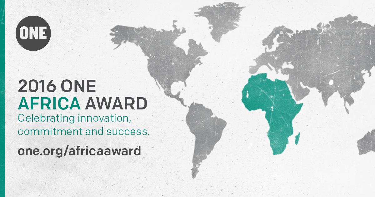 Meet the three 2016 #ONEAfricaAward Finalists!