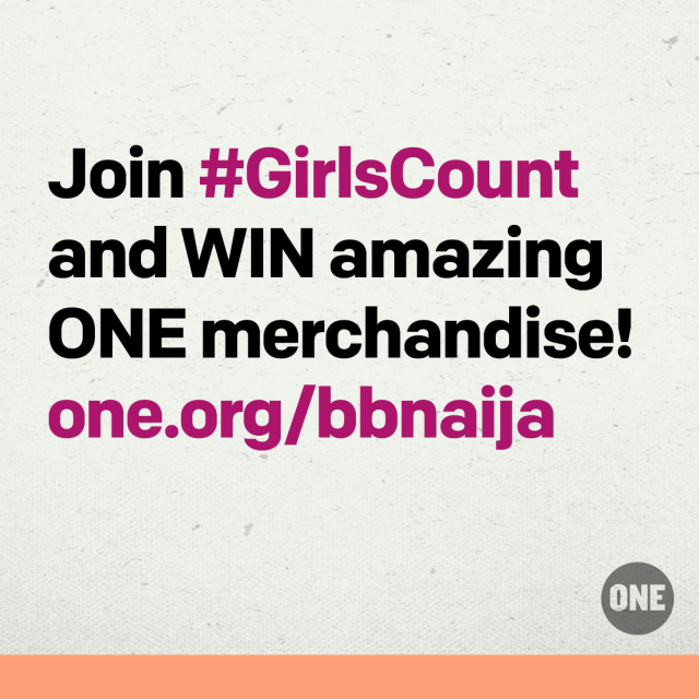 Join #GirlsCount, make your video, WIN amazing ONE merchandise!