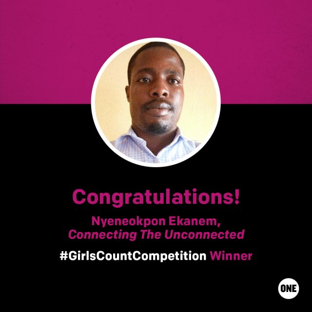 And the #GirlsCountCompetition winner is…