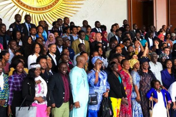 African youth unite for a better future