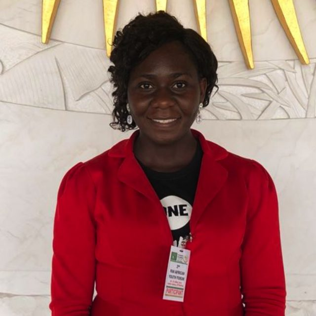 Nigerian teacher Chidinma talks to ONE at the AU Youth Forum