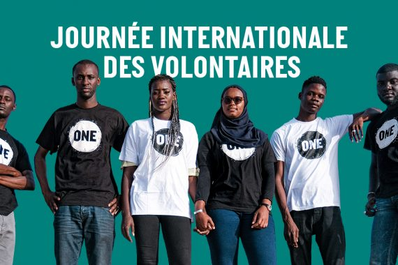 Les bénévoles de ONE acteurs du changement à travers l'Afrique.