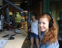 ONE-Jugendbotschafterin Lisa bei Radio fritz