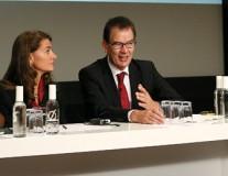 Melinda Gates und Gerd Müller über globale Gesundheit