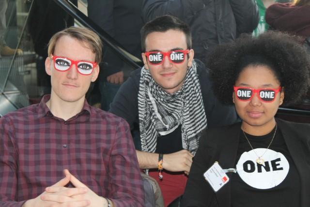 ONE Jugendbotschafter auf Parteitagen von CDU, SPD und JuSos