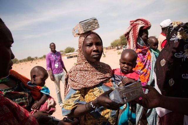 Auf der Flucht vor Boko Haram in den Sumpfgebieten der Tschadregion